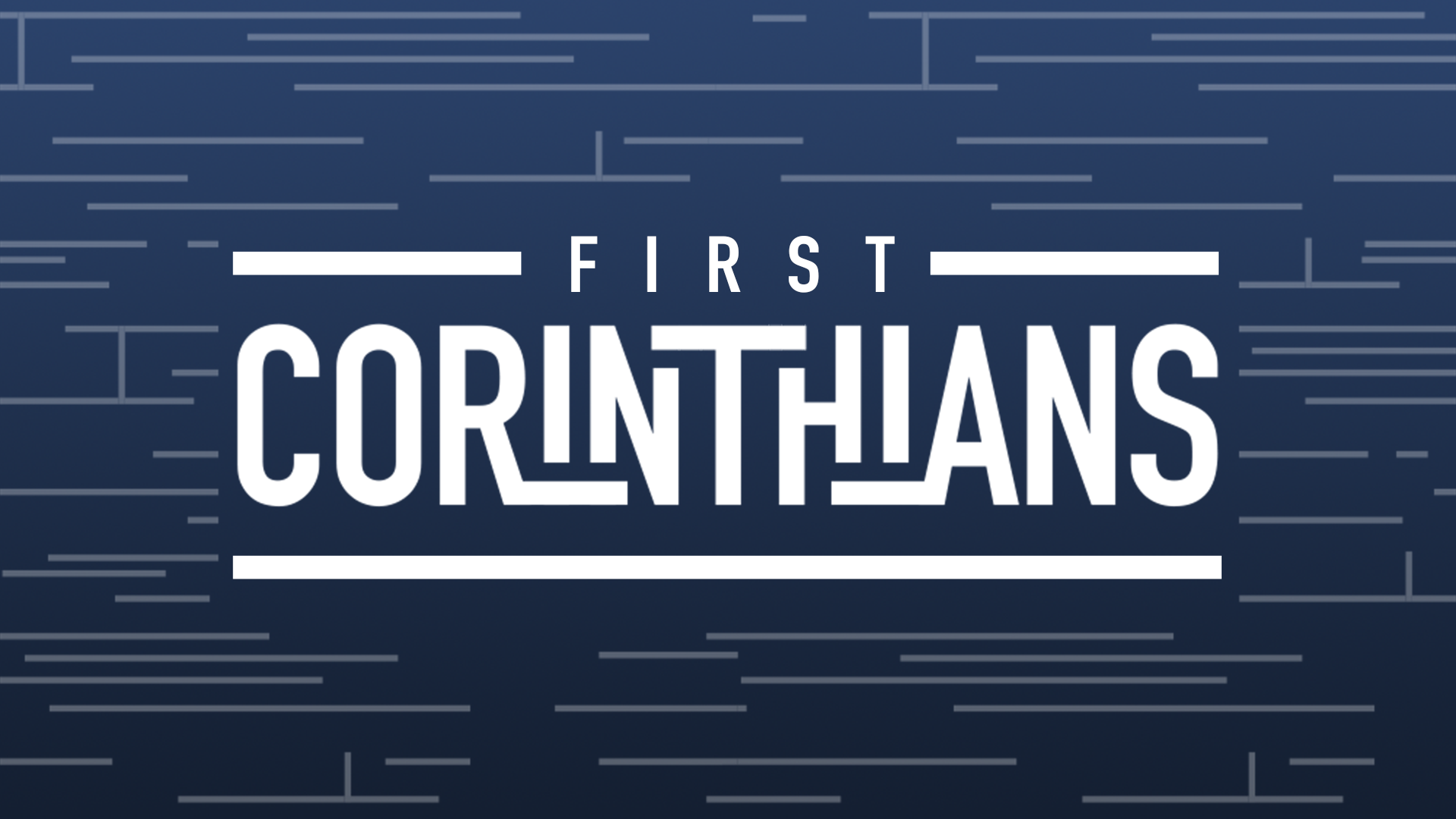 May 23, 2021 | First Corinthians